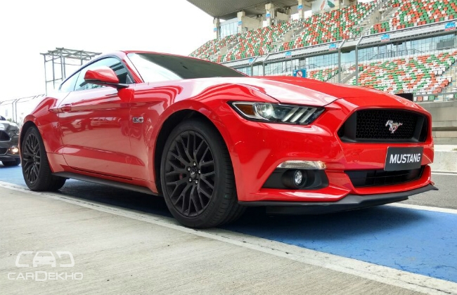 Ford Launches Mustang Gt In India At Starting Price Of Rs Lakh