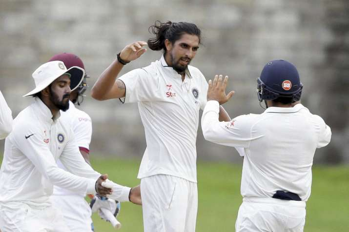 Ishant Sharma is currently recovering from chikungunya