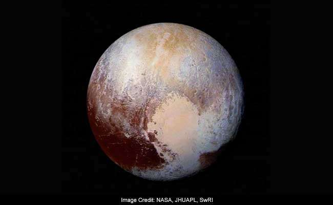 Among the types of ice covering Pluto's surface, nitrogen