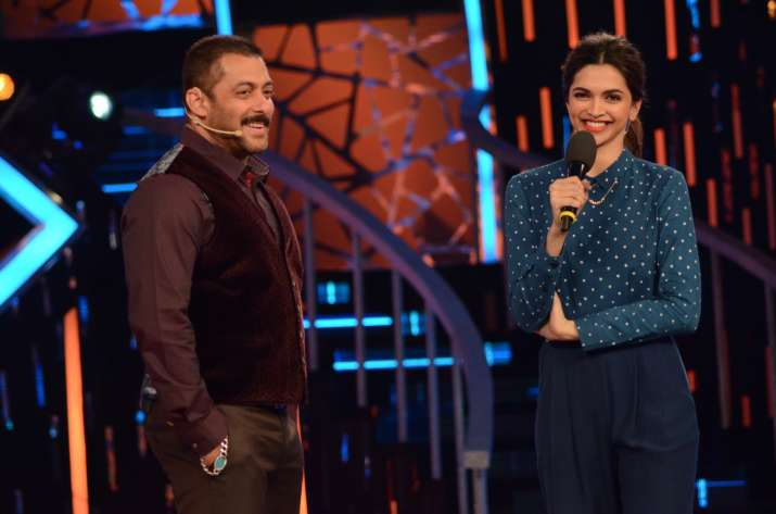 Deepika Padukone and Salman Khan