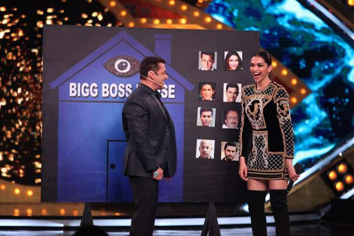 India Tv - Salman asked Deepika which superstar Khan she would like to see inside the house