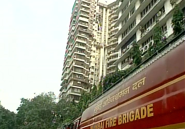 Fire breaks out at residential apartment in Mumbai