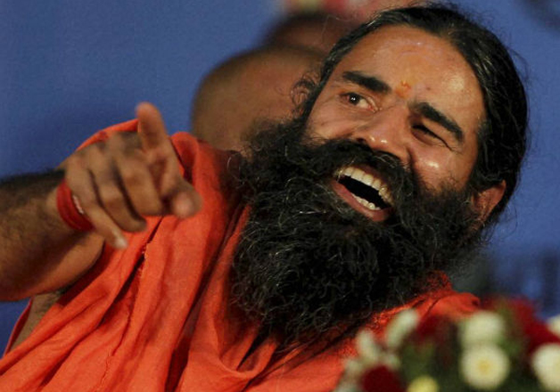 File pic of yoga guru Baba Ramdev at an event in New Delhi