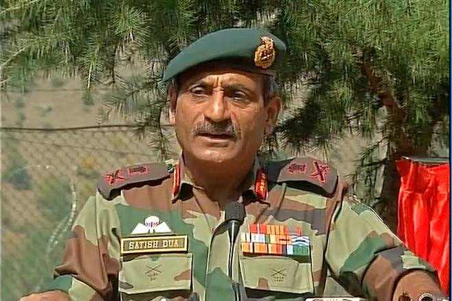 Indian Army, LoC, Surgical strikes, Lt Gen Satish