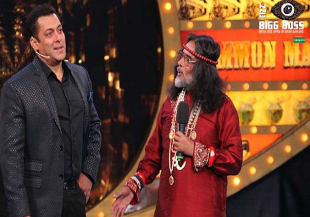 India Tv - Om Swami Maharaj with Salman Khan in Big Boss 10- India TV