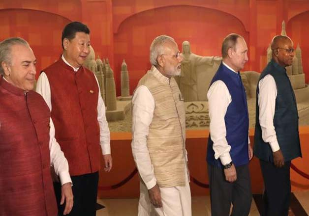 India Tv - Leaders of BRICS nations- India TV
