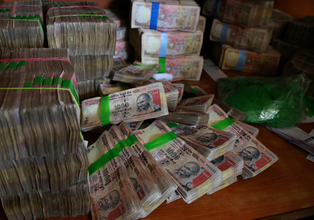 File pic of scrapped Rs 1,000 notes