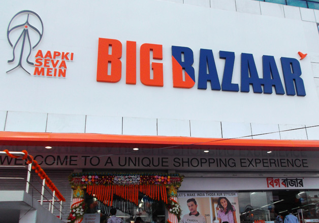 File pic of a Big Bazaar store in Delhi