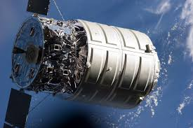 space fire experiment on cargo spaceship