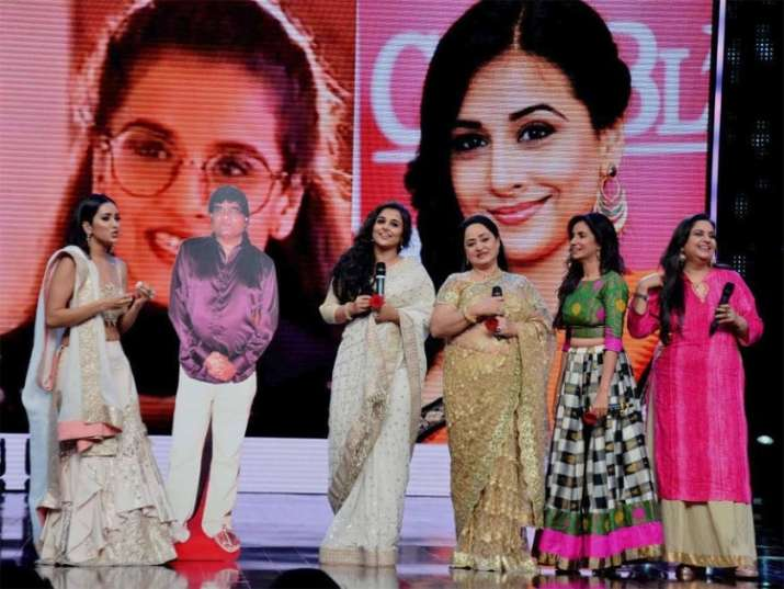 India Tv - The cast was missing Mr. Mathur so managed to bring his cut out on stage