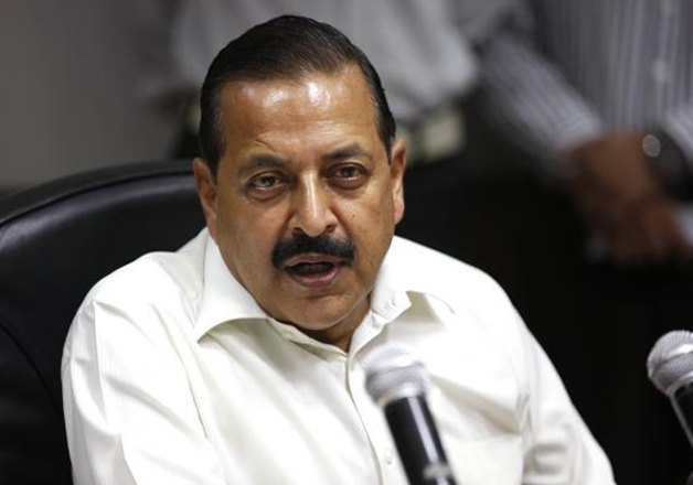 File pic - MoS for Personnel Jitendra Singh