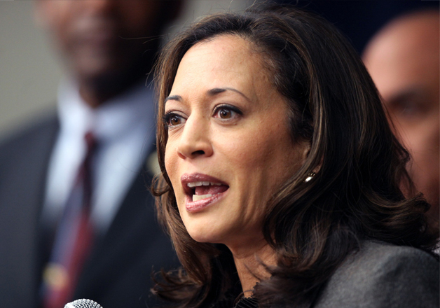 File pic of California Attorney General Kamala Harris
