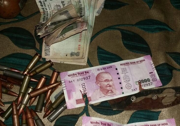 New Rs 2000 notes recovered from terrorists in Bandipora