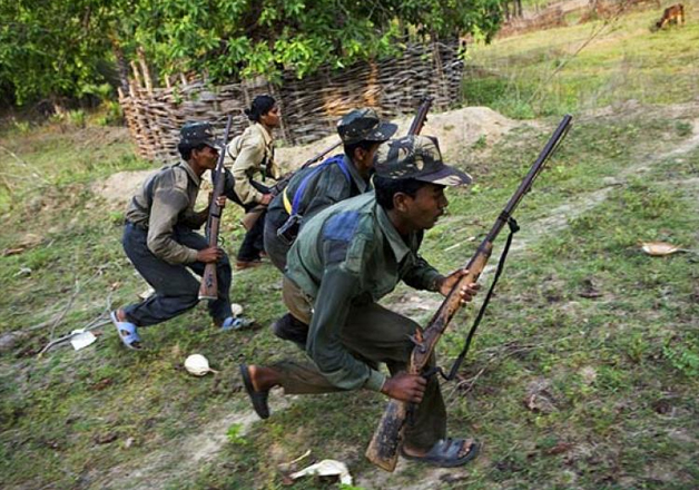File pic - Naxals in Chhattisgarh