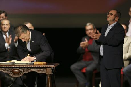 Colombia, Peace Deal, Rebels