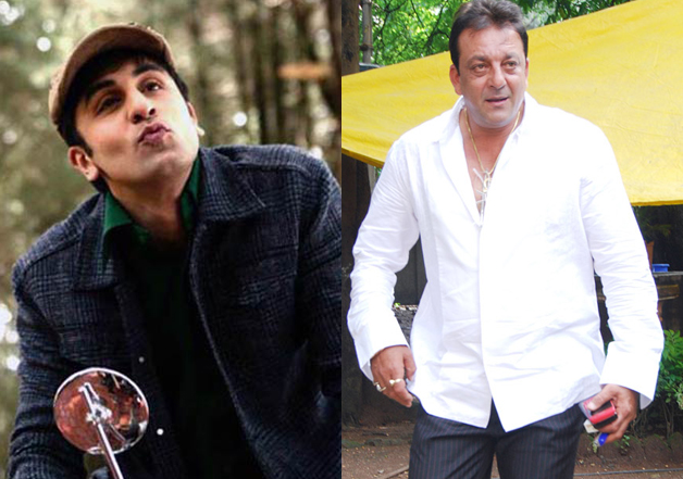 Sanjay Dutt 'lectures' Ranbir Kapoor to be macho m