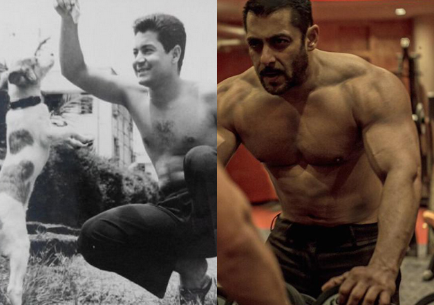 Salman shares 'shirtless' picture of Salim on his 81st