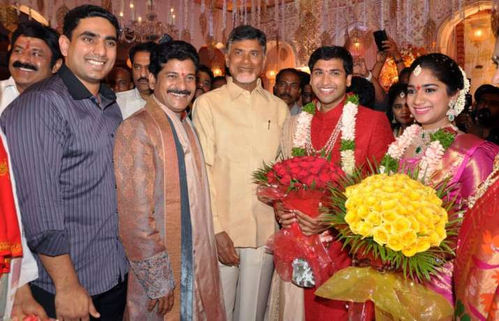 Janardhan Reddy's daughter's wedding