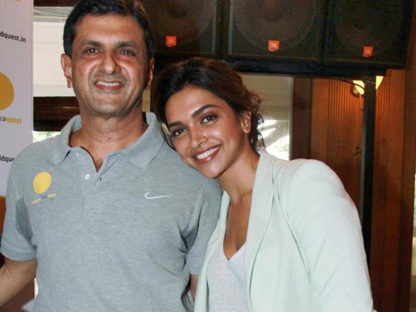 Prakash Padukone and Deepika