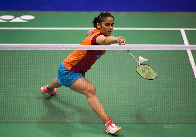 File pic of Saina Nehwal