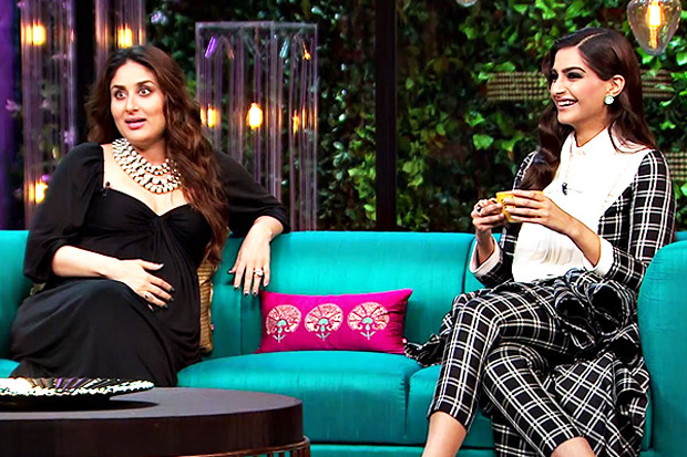 Kareena and Sonam on KWK
