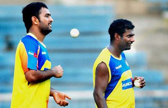 Dhoni one of best Indian captains: Muttiah Muralitharan