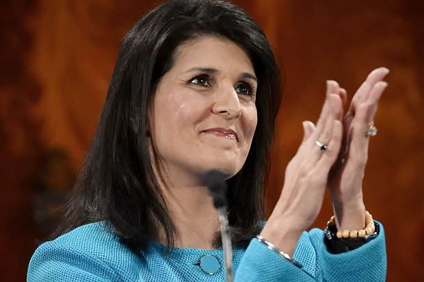 Indian American Nikki Haley confirmed as new US envoy to UN