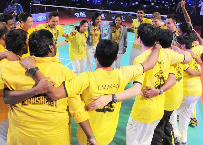 Premier Badminton League: Chennai defeat Mumbai 4-3 to
