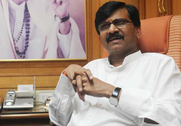 File pic of Shiv Sena leader Sanjay Raut