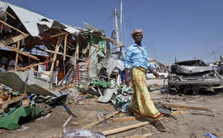 Suicide Blast, Somalia, People Killed