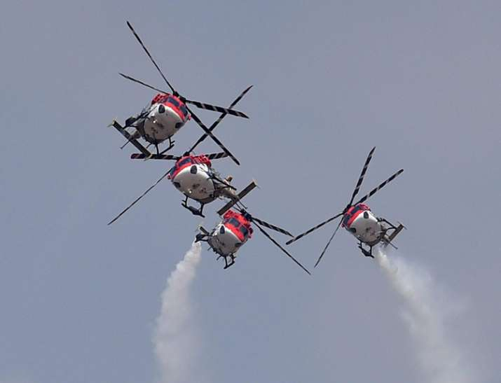 India Tv - IAF's aerobatic team