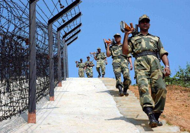 File pic - BSF jawans patrolling near the border