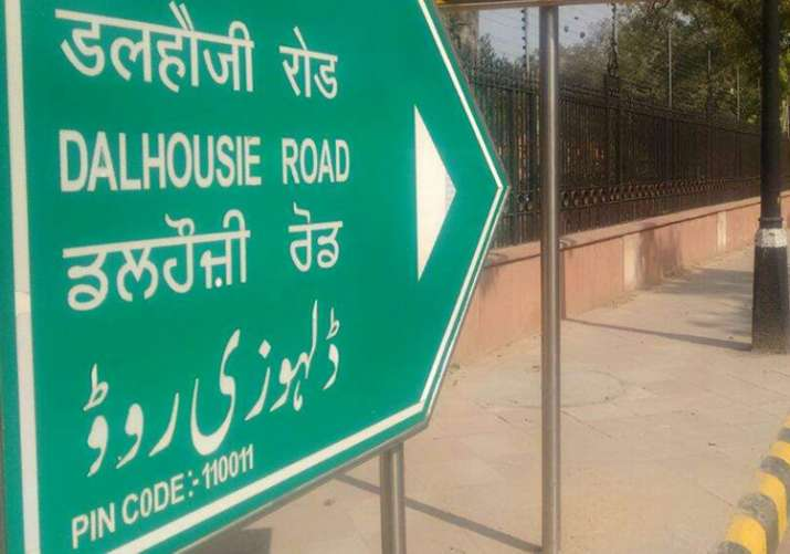 Dalhousie Road renamed to Dara Shikoh Road after