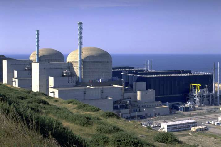 French nuclear plant, radiation, Flamanville plant