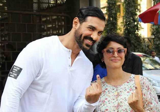 India Tv - John Abraham and Kiran Rao