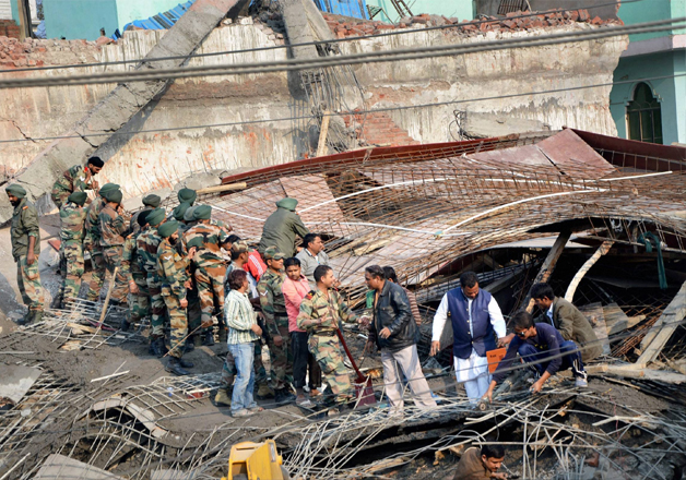 Kanpur building collapse: 30 people still feared trapped,