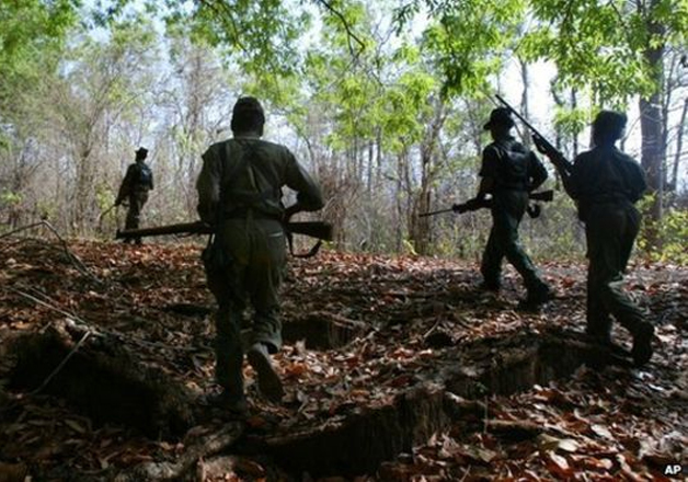 File pic - 7 security officials killed in Maoist landmine
