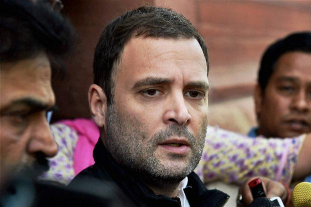 Rahul backs cut in Political funding, says rest was damp