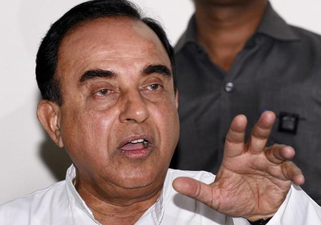 File pic of BJP leader Subramanian Swamy
