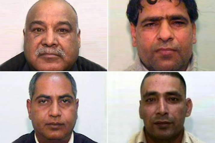 The four convicted men