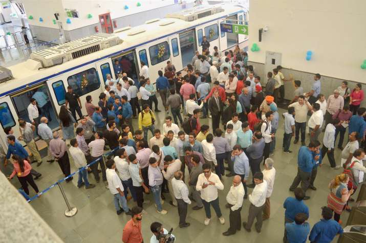 India Tv - Rapid Metro Phase-2 launched in Gurugram