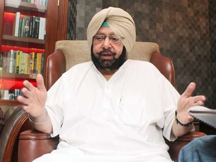 File pic of Punjab CM Captain Amarinder Singh