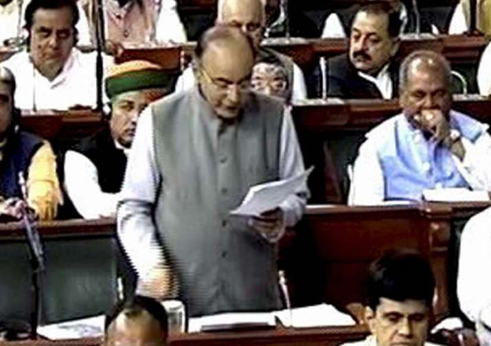 Arun Jaitley tables four GST bills in Lok Sabha
