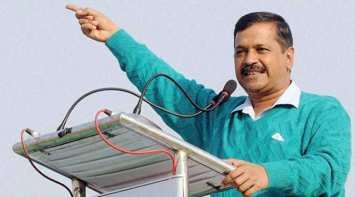India Tv - The announcement was made in the presence of Chief Minister Arvind Kejriwal.