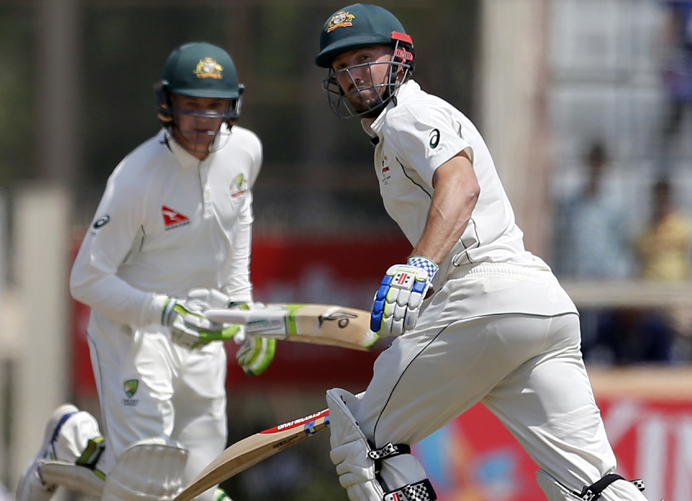 Australia ride on Handscomb, Marsh to draw third Test in