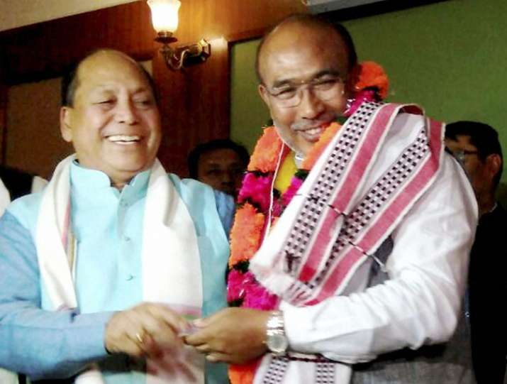 Biren Singh is tipped to be the first BJP CM of Manipur.