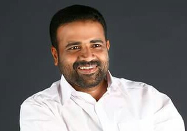 File pic of Kerala Congress leader CR Mahesh. Photo
