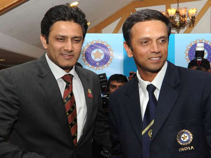 Kumble to to be elevated as Team India director, Dravid new