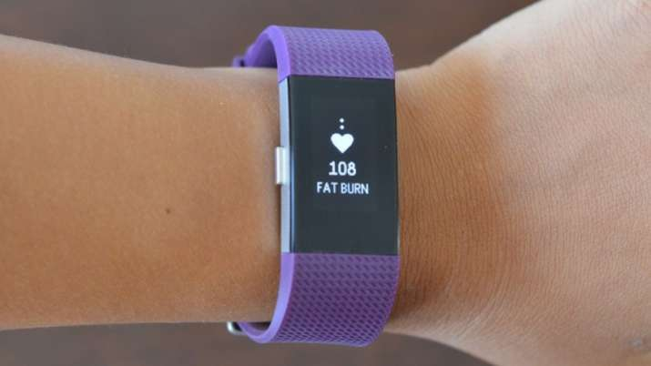 India Tv - Fitbit Charge 2 Fitness Band