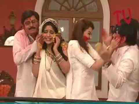 holi, TV celebrities